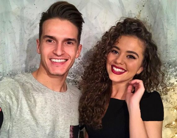 Denis Suárez and Sandra Montoto -  دنیس سوارز