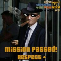 (2) +Mission passed! Respect